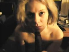 Blonde amateur wife BBC interracial POV compilation
