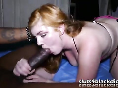 Dirty bbc creampie for a young cheating white slut