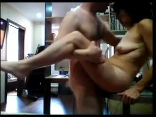 Russian milf amateur hidden cam fucked by lover