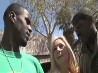 Mature blonde slutmom hunting for black cocks