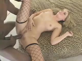 Hot white wife with great body bbc cuckold facial