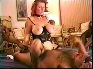 Perfect white redhead mom gets black gangbang