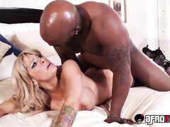 Big titted milf gets fucked hard by BBC bull