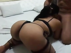 Big assed Brazilian wife cuckold her husband